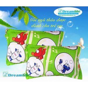 gối thảo dược đinh lăng dreamlife cho trẻ sơ sinh