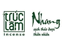 Logo Trúc Lâm Incense – Nhang sạch thảo dược Trúc Lâm